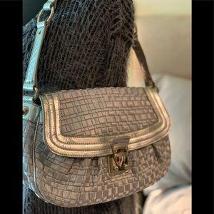 The Sak Silver woven bag 💼